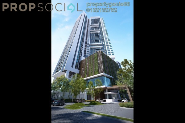 For Sale Condominium at SkySierra, Setiawangsa Freehold Unfurnished 3R/2B 450k