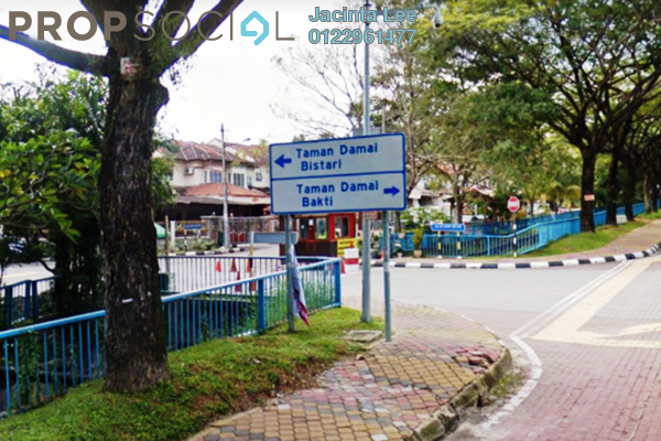For Sale Terrace at Damai Bestari, Alam Damai Freehold Semi Furnished 4R/3B 551k
