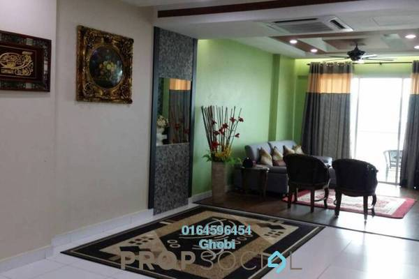 For Rent Condominium at Elit Heights, Bayan Baru Freehold Fully Furnished 3R/2B 2k