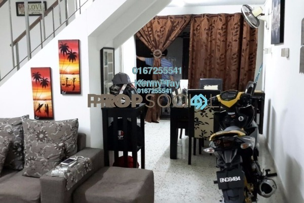 For Sale Terrace at Taman Selayang Baru, Selayang Freehold Semi Furnished 2R/1B 360k