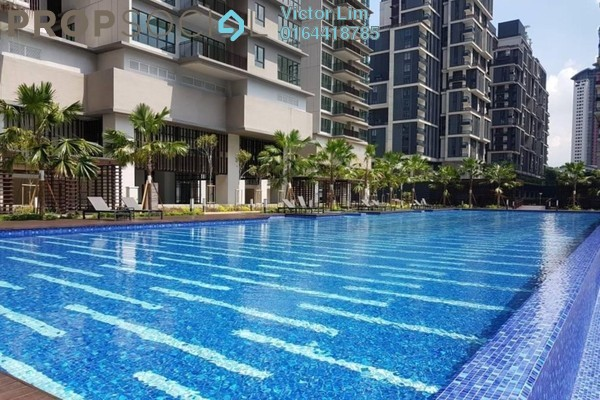 For Sale Condominium at Residensi 22, Mont Kiara Freehold Semi Furnished 4R/5B 2.35m