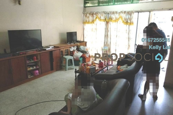 For Sale Terrace at Taman Sentul Jaya, Sentul Freehold Semi Furnished 5R/3B 990k