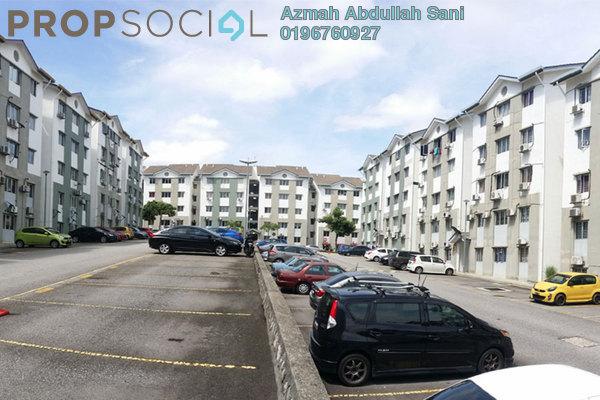 For Rent Apartment at Taman Puncak Jalil, Bandar Putra Permai Freehold Unfurnished 3R/2B 1.2k