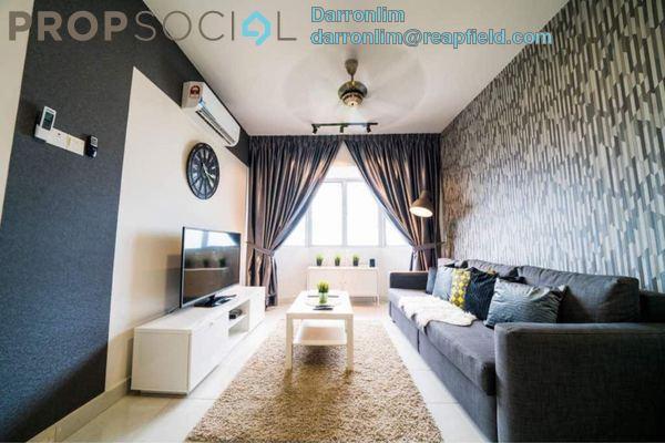 For Rent Condominium at Main Place Residence, UEP Subang Jaya Freehold Fully Furnished 3R/2B 3k