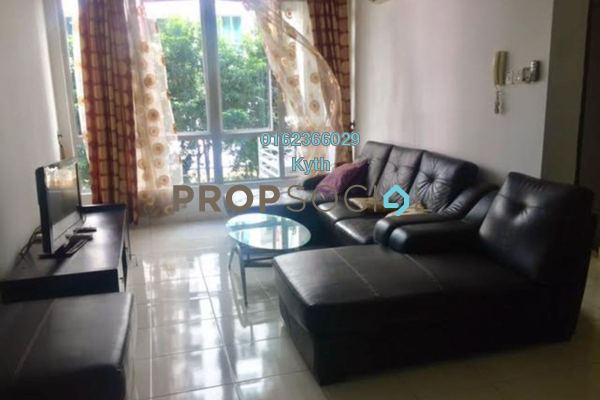 For Sale Condominium at Casa Tiara, Subang Jaya Freehold Fully Furnished 3R/2B 528k