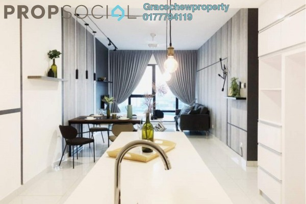 For Rent Apartment at SouthKey Mosaic @ SouthKey, Johor Bahru Freehold Fully Furnished 2R/2B 2.38k