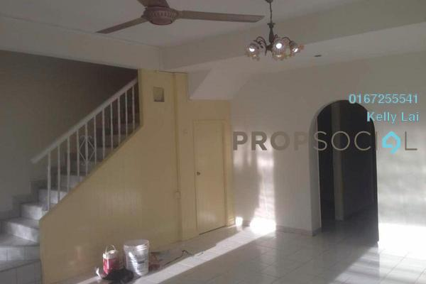 For Sale Terrace at Taman Bukit Desa, Kepong Freehold Semi Furnished 4R/3B 670k
