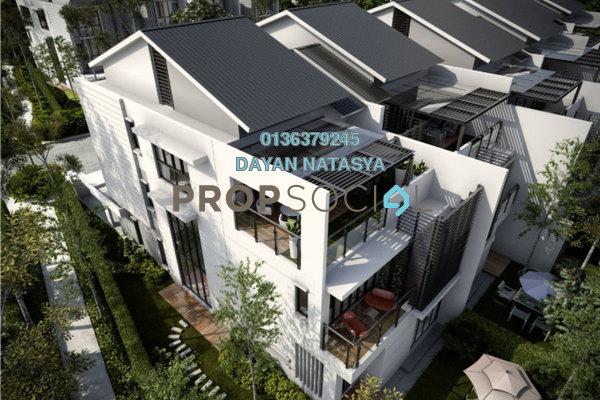 For Sale Superlink at Sejati Residences, Cyberjaya Freehold Fully Furnished 5R/5B 2.7m