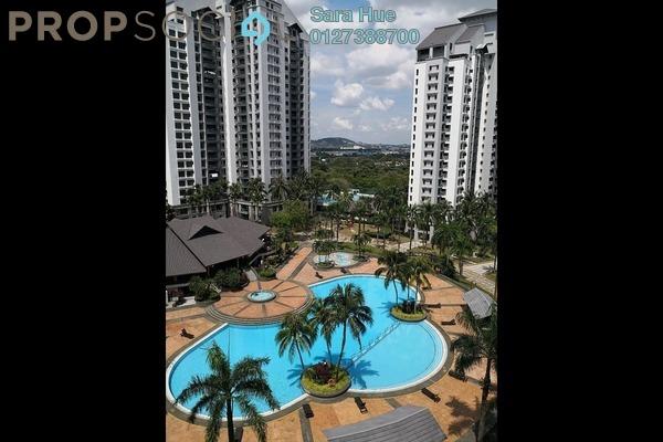 For Rent Condominium at Straits View Condominium, Bandar Baru Permas Jaya Freehold Fully Furnished 3R/2B 4k
