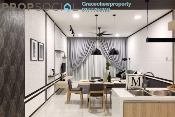 For Rent Apartment at SouthKey Mosaic @ SouthKey, Johor Bahru Freehold Fully Furnished 4R/3B 3.5k