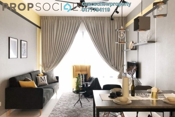 For Rent Apartment at SouthKey Mosaic @ SouthKey, Johor Bahru Freehold Fully Furnished 2R/2B 2.5k