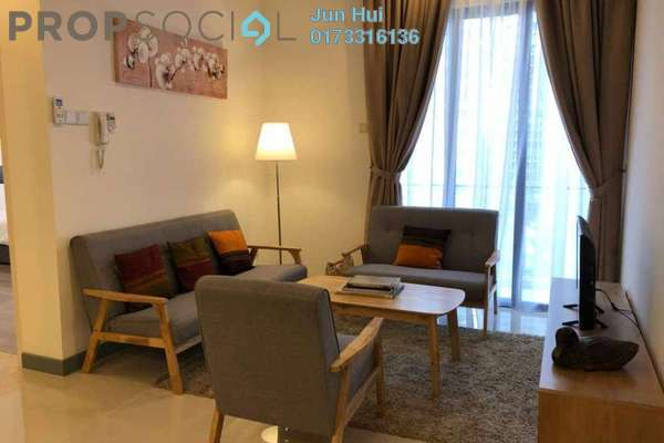 For Rent Condominium at South View, Bangsar South Freehold Fully Furnished 2R/2B 2.45k