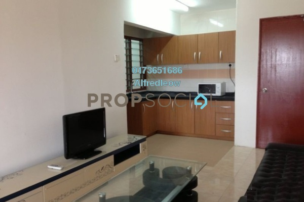 For Sale Apartment at Opal Apartment, Subang Freehold Semi Furnished 3R/2B 190k