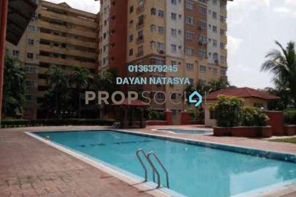 For Sale Apartment at Intana Ria, Kajang Freehold Semi Furnished 4R/2B 280k