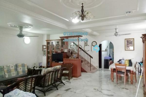 For Sale Terrace at Taman Bayu Perdana, Klang Freehold Semi Furnished 4R/3B 530k