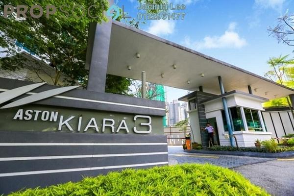 For Sale Condominium at Aston Kiara 3, Mont Kiara Freehold Semi Furnished 3R/3B 572k