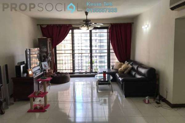 For Rent Condominium at Vista Kiara, Mont Kiara Freehold Semi Furnished 3R/2B 2.5k