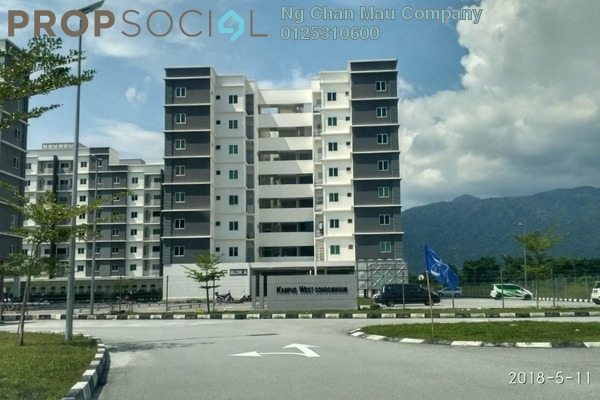 For Sale Condominium at Kampus West City, Kampar Freehold Semi Furnished 0R/0B 243k