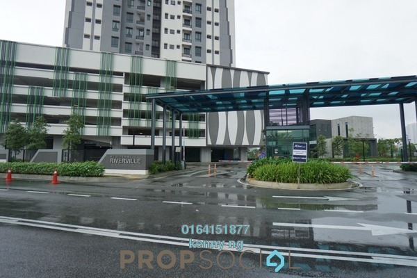 For Sale Condominium at Riverville Residences, Old Klang Road Freehold Semi Furnished 3R/2B 686k