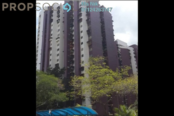 For Sale Apartment at Kondo Rakyat, Pantai Leasehold Unfurnished 3R/2B 188k
