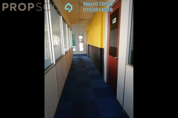 For Rent Office at Section 9, Shah Alam Freehold Semi Furnished 0R/1B 2.5k