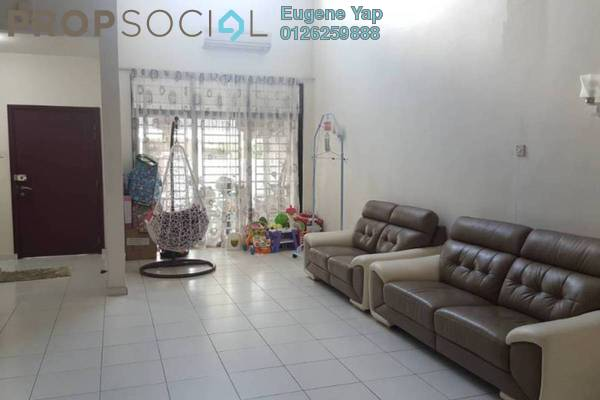 For Sale Terrace at Lake Fields, Sungai Besi Freehold Semi Furnished 5R/4B 1.08m