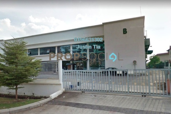 For Rent Factory at Bukit Raja Industrial Park, Klang Freehold Semi Furnished 0R/0B 100k
