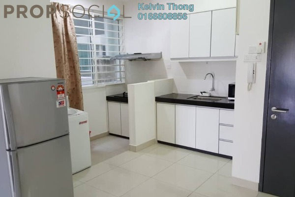 For Rent Condominium at Zenith Residences, Kelana Jaya Freehold Fully Furnished 3R/2B 2k