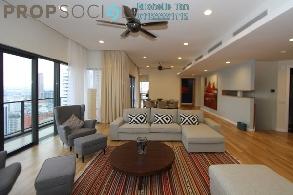 For Sale Condominium at St Mary Residences, KLCC Freehold Semi Furnished 4R/4B 5.41m