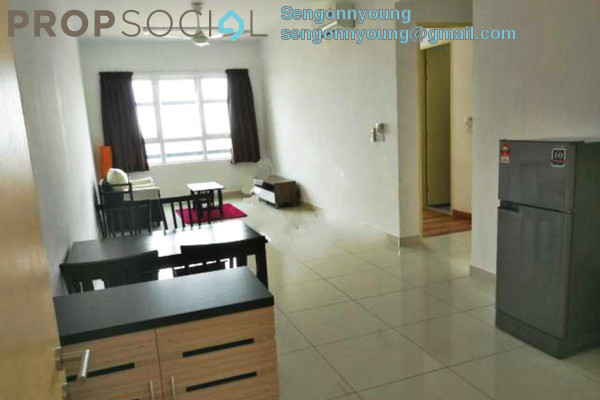 For Rent Condominium at Bandar Bukit Tinggi 2, Klang Freehold Fully Furnished 2R/2B 2.1k