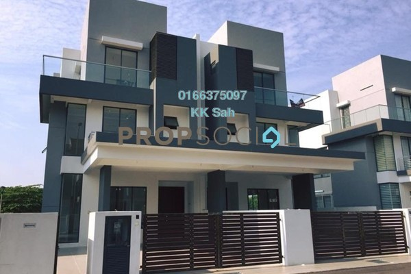 For Sale Semi-Detached at Spring Villa, Bandar Mahkota Cheras Freehold Unfurnished 6R/7B 1.3m