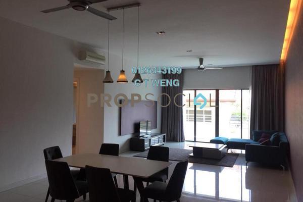 For Rent Condominium at Identiti U-Thant, Ampang Hilir Freehold Fully Furnished 3R/4B 6k