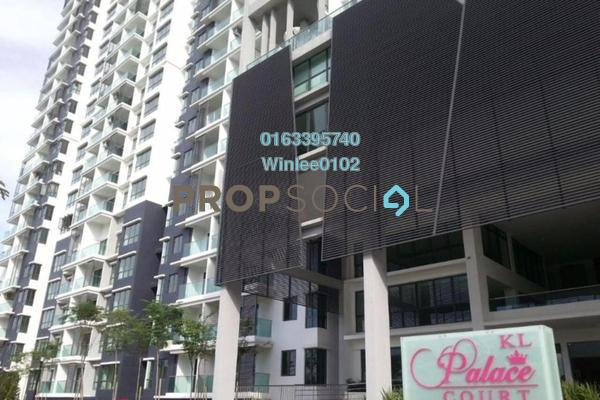 For Rent Condominium at KL Palace Court, Kuchai Lama Freehold Fully Furnished 3R/2B 2.1k