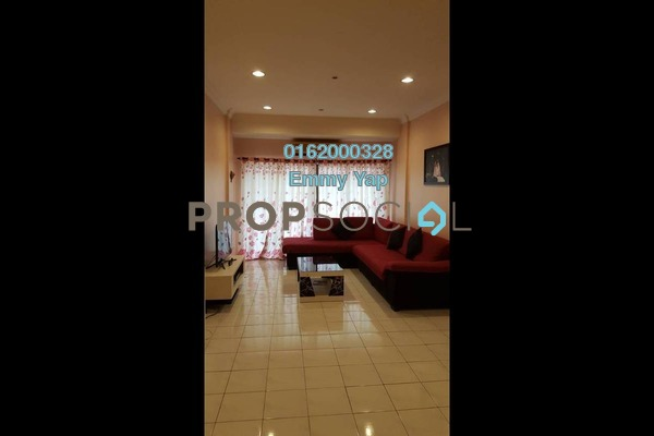 For Sale Condominium at Evergreen Park, Bandar Sungai Long Freehold Fully Furnished 3R/2B 395k
