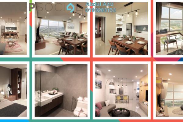 For Sale SoHo/Studio at Third Avenue, Cyberjaya Freehold Fully Furnished 2R/1B 620k