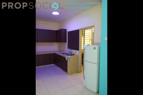 For Sale Condominium at Platinum Lake PV10, Setapak Freehold Semi Furnished 3R/2B 450k