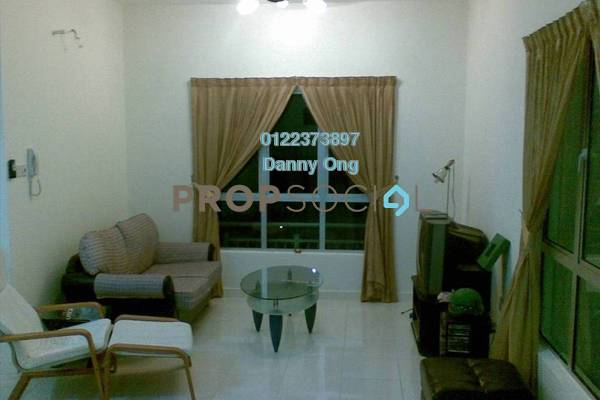 For Rent Condominium at Metropolitan Square, Damansara Perdana Freehold Semi Furnished 3R/2B 1.9k