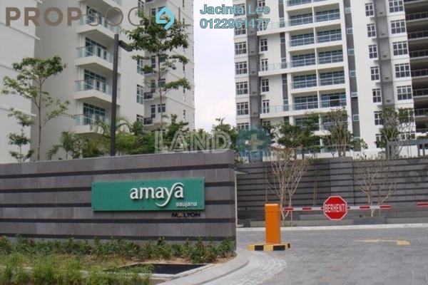 For Sale Condominium at Amaya Saujana, Saujana Freehold Semi Furnished 4R/4B 891k