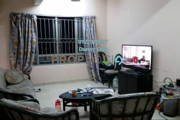 For Sale Condominium at Plaza Metro Prima, Kepong Freehold Semi Furnished 3R/2B 360k