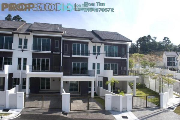 For Sale Terrace at Taman Titi Heights, Balik Pulau Freehold Unfurnished 4R/3B 678k