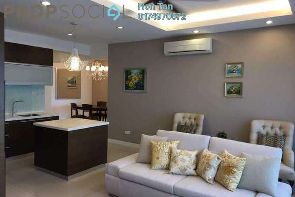 For Rent Condominium at Birch The Regency, Georgetown Freehold Fully Furnished 1R/1B 3.5k