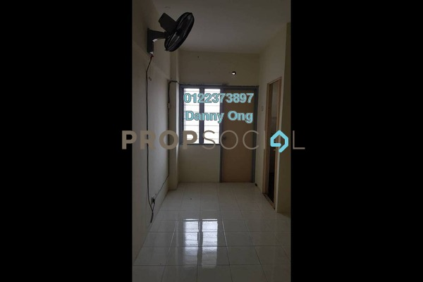 For Rent Condominium at Pelangi Indah, Jalan Ipoh Freehold Unfurnished 3R/2B 1.2k