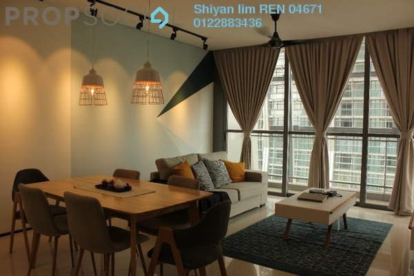 For Rent Condominium at The Fennel, Sentul Freehold Fully Furnished 3R/3B 3.7k