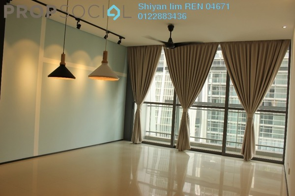 For Rent Condominium at The Fennel, Sentul Freehold Semi Furnished 3R/3B 3k