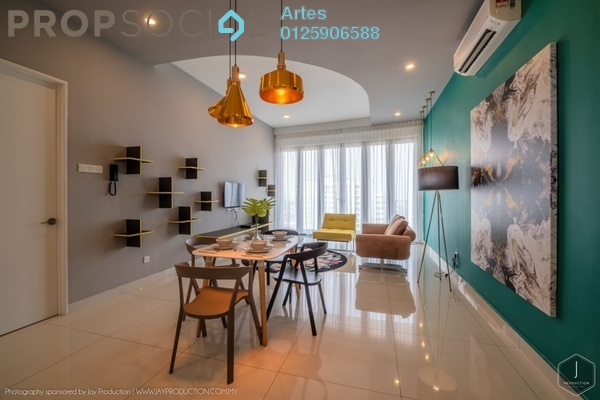 For Rent Serviced Residence at Arte S, Bukit Gambier Freehold Fully Furnished 3R/2B 4k