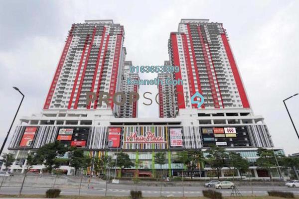 For Rent Condominium at Main Place Residence, UEP Subang Jaya Freehold Fully Furnished 3R/2B 1.9k