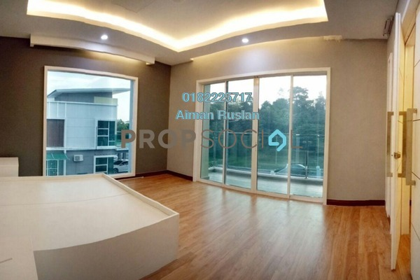 For Sale Terrace at Kampung Sungai Merab, Kajang Leasehold Fully Furnished 4R/5B 1.2m