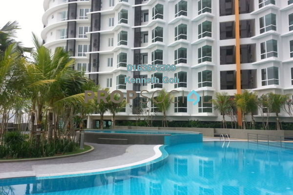 For Rent Condominium at Tiara Mutiara, Old Klang Road Freehold Semi Furnished 2R/2B 1.4k