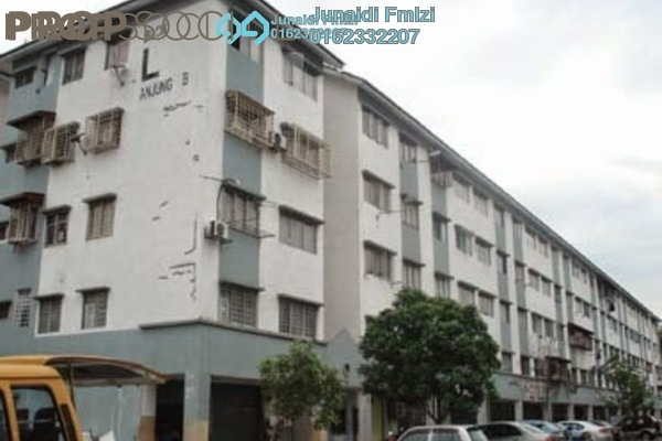 For Rent Apartment at Taman Kota Perdana, Bandar Putra Permai Freehold Unfurnished 3R/2B 650translationmissing:en.pricing.unit