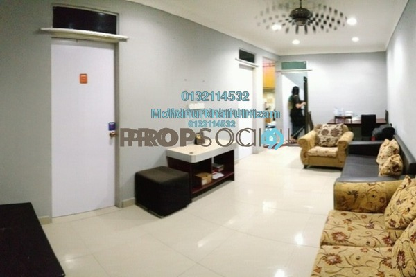 For Sale Condominium at Mentari Court 1, Bandar Sunway Freehold Semi Furnished 3R/2B 270k